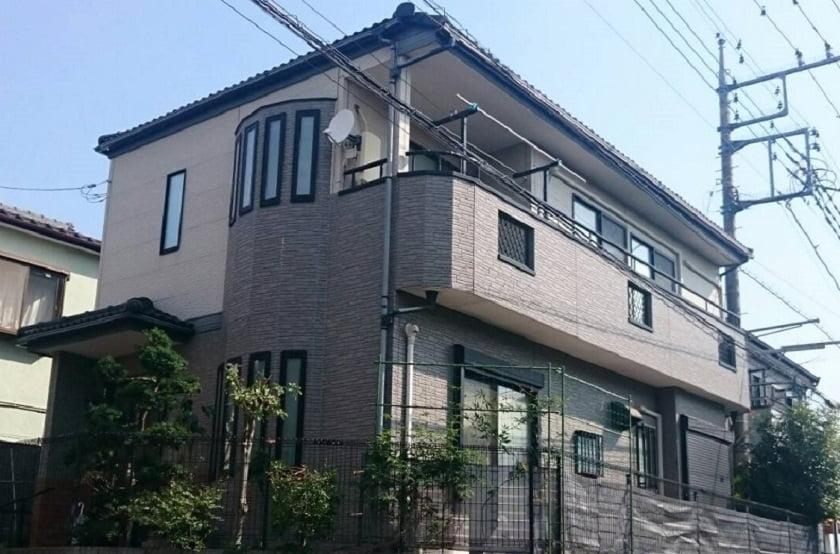 【富士見市外壁塗装事例】