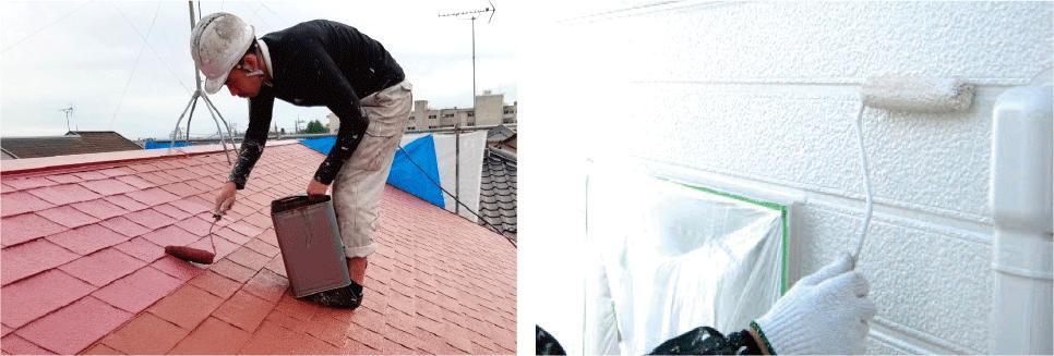 外壁塗装や屋根塗装、メンテナンスの必要性